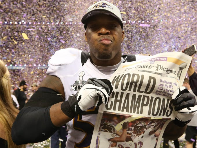 Perhaps no sport is as team-oriented as football, but that doesn't mean individual players can't have major impacts. USA TODAY Sports looks at pivotal players in the AFC -- such as Baltimore Ravens OLB Terrell Suggs, who probably needs to recapture his 2011 defensive MVP form while stepping into a leadership void for Baltimore's revamped roster -- who could key their club's fortunes in 2013.