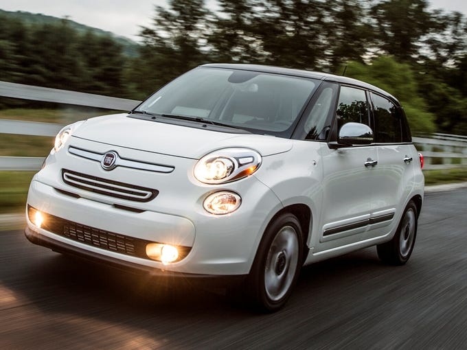 The Fiat 500L adds a four-door, five-passenger small crossover to Fiat's lineup.