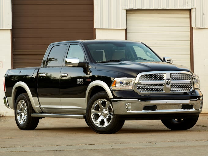 No. 1 in Consumer Reports' ranking of big pickups is the 2013 Ram 1500.