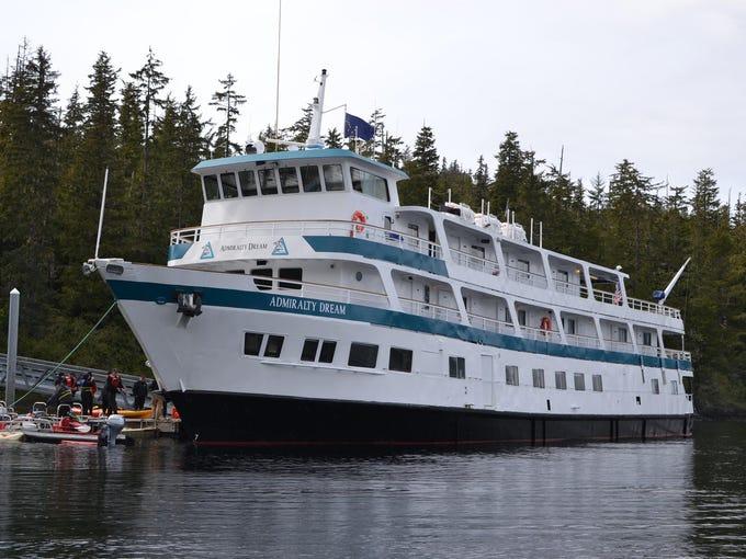 Cruise Ship Tours Alaskan Dream Cruisesu0026#39; Admiralty Dream