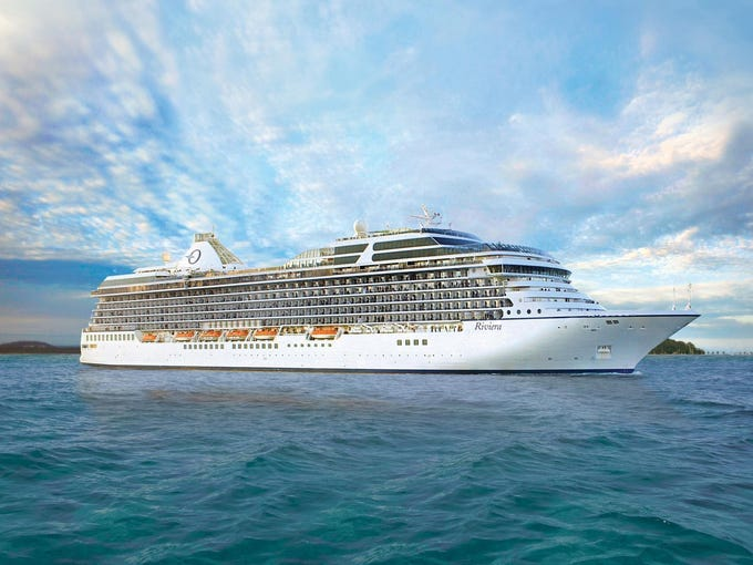 Christened in Barcelona on May 11, 2012, the 1,250-passenger Riviera is upscale Oceania Cruises' newest ship.