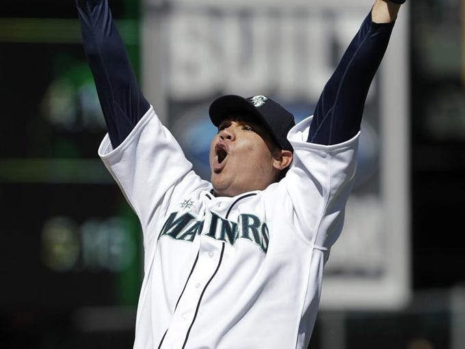 Only 23 pitchers have tossed perfect games in major league history. A look back: Felix Hernandez, Seattle Mariners vs. Tampa Bay Rays, 1-0, Aug. 15, 2012.