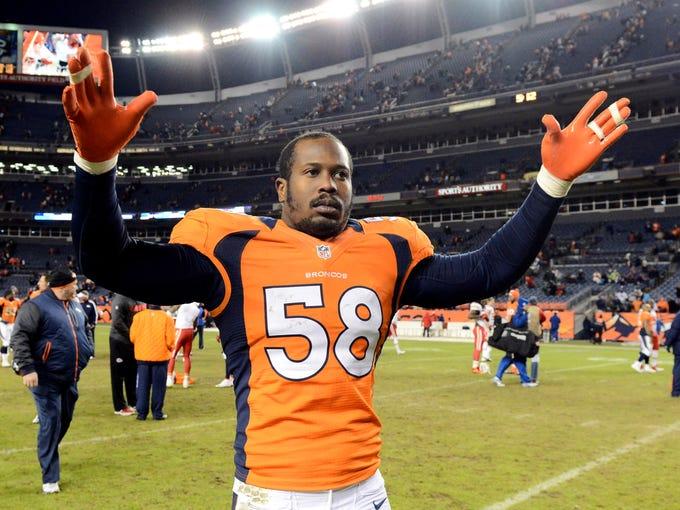 Von Miller, OLB, Denver Broncos: 4 games for violating (pending appeal).