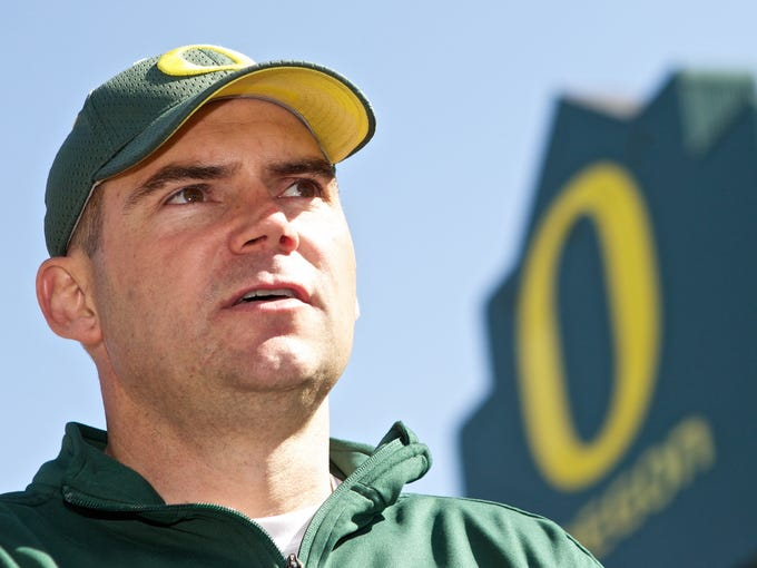 Oregon: Mark Helfrich (promoted from offensive coordinator) replaces Chip Kelly.