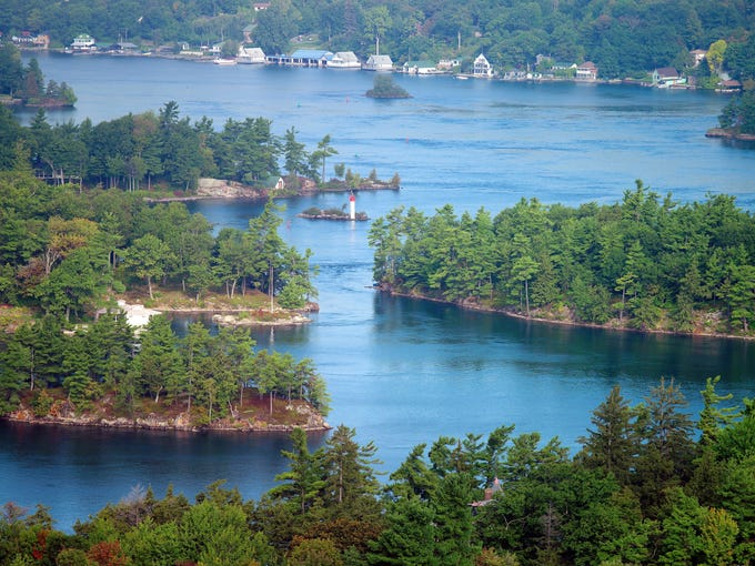 Thousand Islands, N.Y., particularly the section of the St. Lawrence River Valley, is not only a long-recognized beauty spot, but also renowned as a hatchery for smallmouth bass.