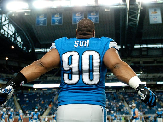 The dirtiest players in the NFL, as voted by players in the league: #1. Lions DT Ndamukong Suh, 32 votes