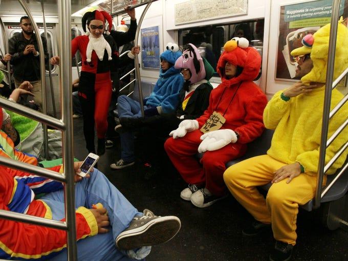New York City hosts huge annual Halloween parade
