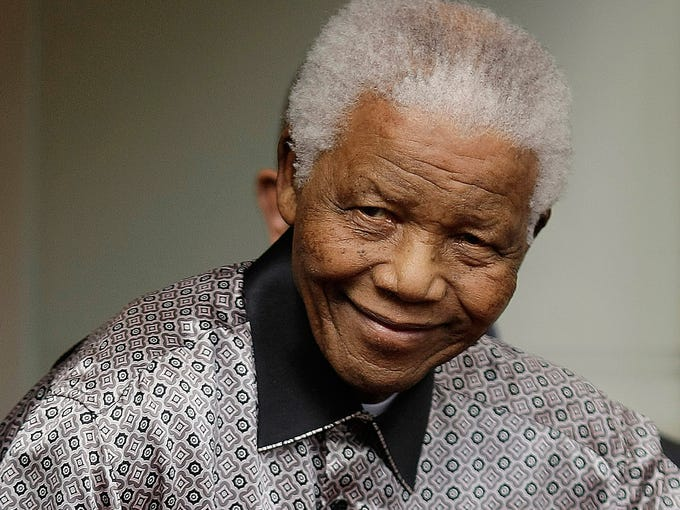 Nelson Mandela through the years