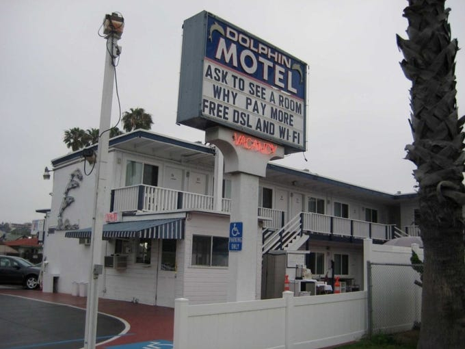 Tripadvisor Dolphin Motel San Diego