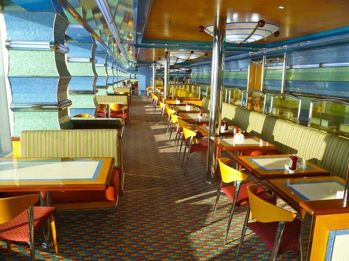 Carnival Breeze Deck Plans, Diagrams, Pictures, Video