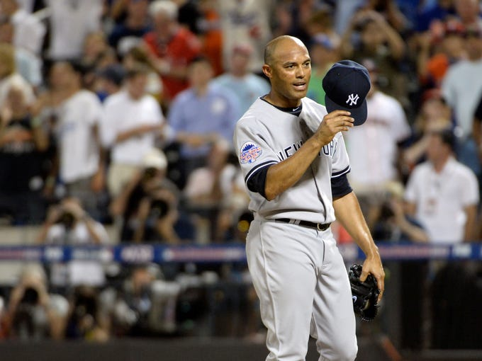 Mariano Rivera pitched in his final All-Star Game