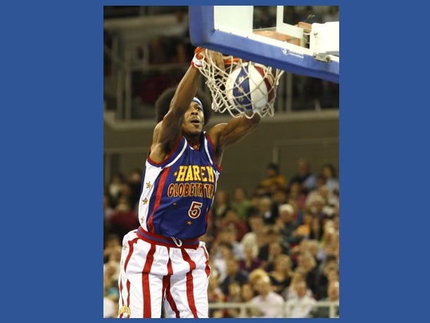 Win a family 4-pack of tickets to see the Harlem Globetrotters on April 7th. Enter 3/22-4/4.