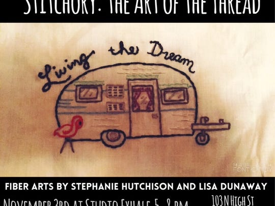Stitchery: The Art of Thread, Fiber Arts By Stephanie Hutchison and Lisa Dunaway