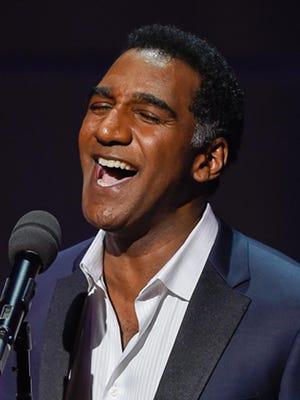 Norm Lewis, a Broadway crooner.