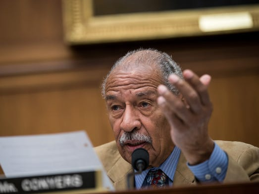 Rep. John Conyers during a House Judiciary Committee