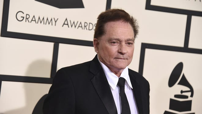 In this Feb. 15, 2016 file photo, Marty Balin arrives at the 58th annual Grammy Awards at the Staples Center in Los Angeles.)