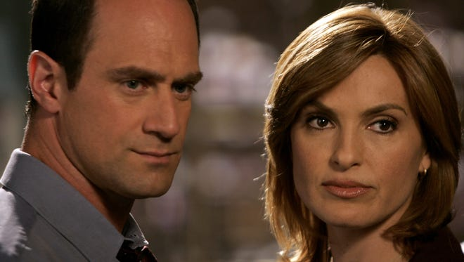 """""""Law & Order: SVU"""" with Christopher Meloni and Mariska Hargitay (457 and counting)"""