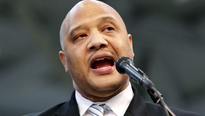 """U.S. Representative Andre Carson, D-Ind., says he is endorsing Hillary Clinton for the Democratic nomination for president. """"I think that Hillary Clinton is special because she's the most qualified in the current field. ... We're going to have someone who will assume the presidency without a steep learning curve,"""" Carson said."""