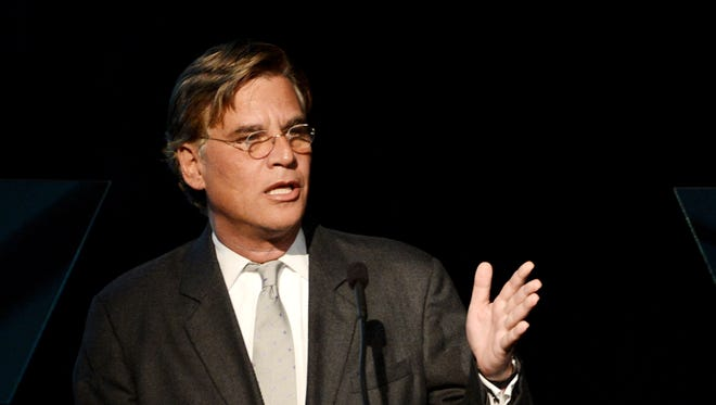 Aaron Sorkin on March 21, 2013, in Beverly Hills.
