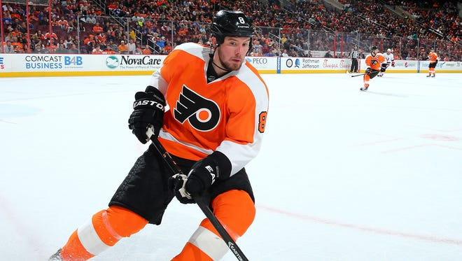 The Coyotes traded for Niklas Grossmann Saturday from the Philadelphia Flyers.