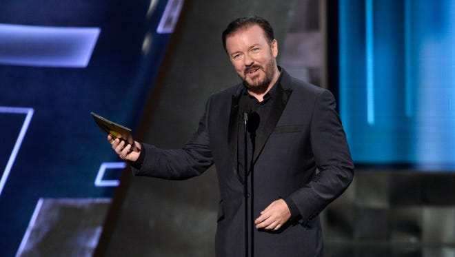 Ricky Gervais returns to the Golden Globes in 2016 for his fourth hosting stint.