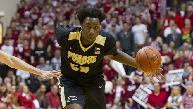 Purdue forward Caleb Swanigan still hasn't decided if he's staying in the draft or not.