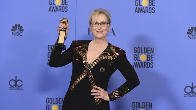 Somerset Hills-raised Meryl Streep won the Cecil B. DeMille award at the Golden Globes earlier this year.
