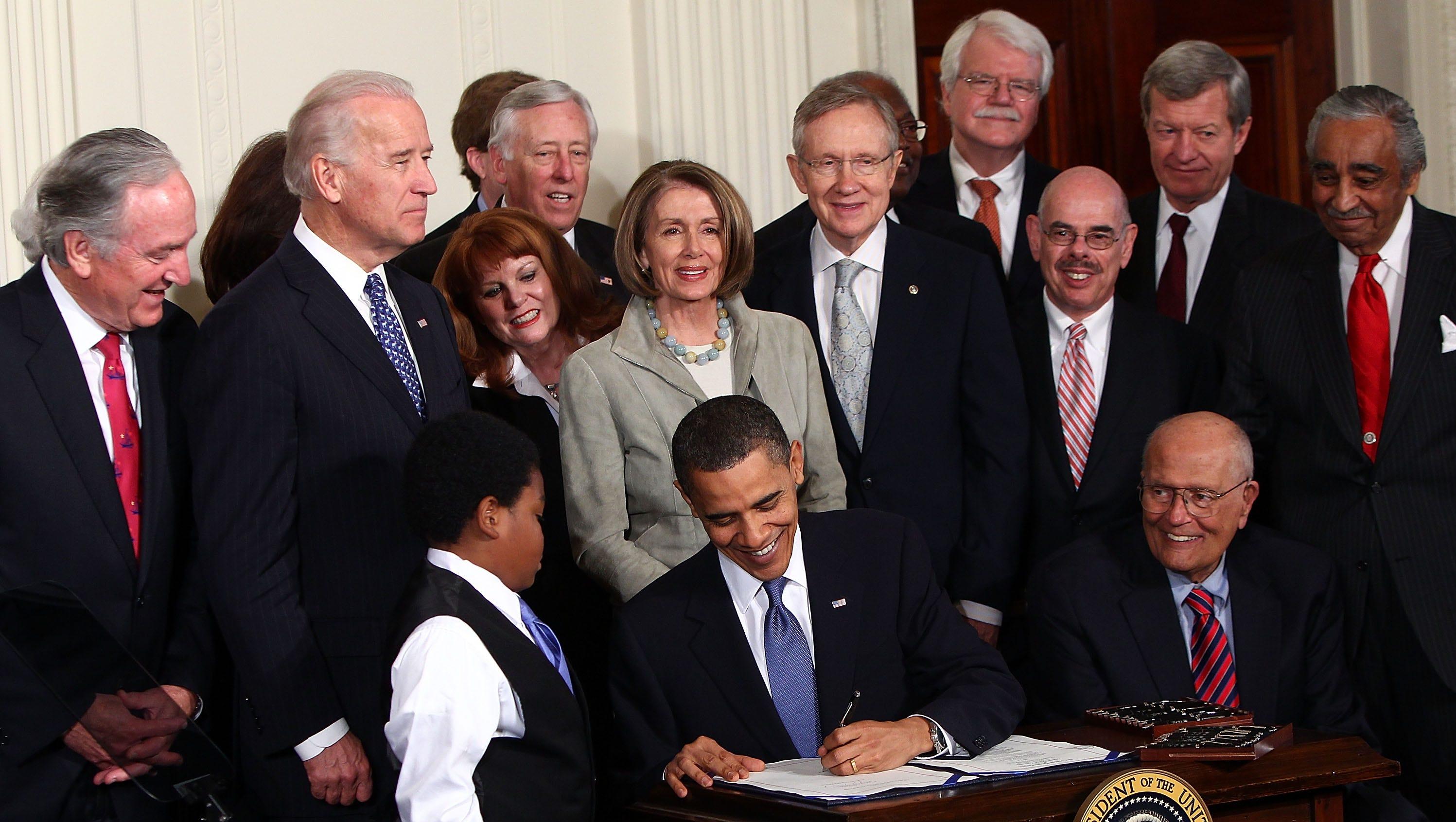 Image result for obama care 2010 images