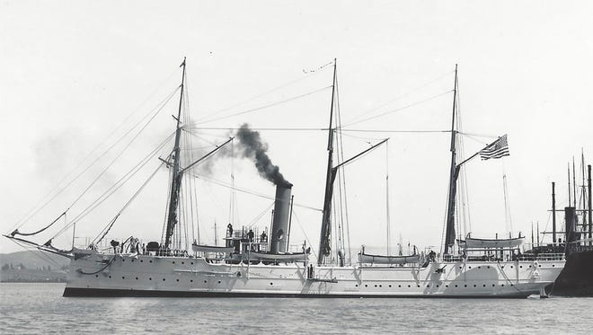USCG Cutter McCulloch  launched in 1896.