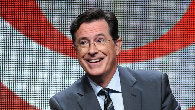 Stephen Colbert's latest target is Anthony Scaramucci.
