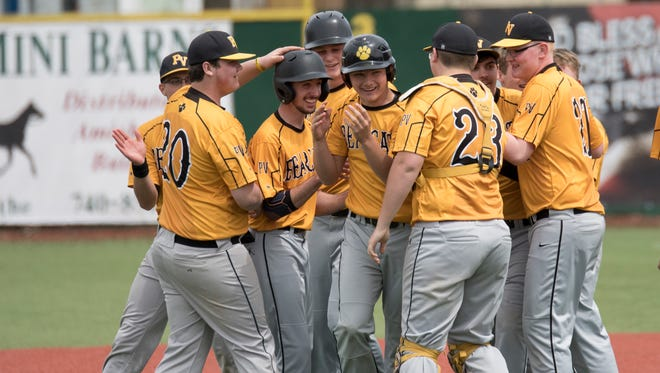 Paint Valley swept a double header against Alexander Saturday morning at the VA Memorial Stadium by the scores of 5-0 and 11-10.