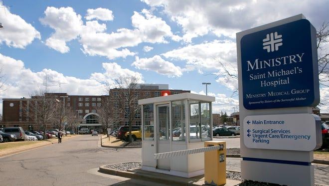 Ministry Saint Michael's Hospital in Stevens Point.