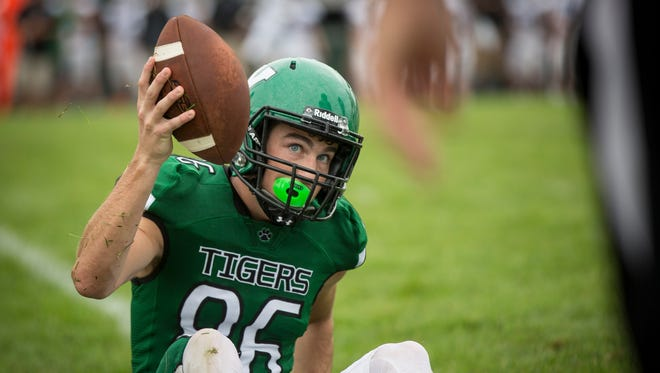 Central and Yorktown went head to head Saturday afternoon during a postponed game from Friday evening. Central won the game 28-21.