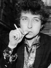 Bob Dylan, shown in 1965.