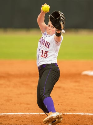 NSU's EC Delafield pitches and hits as a college freshman, and she'll face former high school teammate Bayli Simon when the Lady Demons travel to Louisiana Tech on Wednesday.