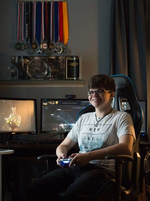 """Ryan """"Dragon"""" Walker of Lewes is one of the best fighting video game players in the world. After graduating from Cape Henlopen High School, he became a full-time gamer. He's earned a little over $250,000 playing the games """"Injustice 2"""" and """"Mortal Kombat X."""""""