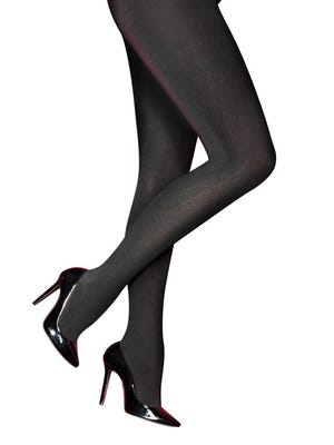 Fleece-lined tights by Pretty Polly. $20 a pair at Busted Bra Shop, Detroit.
