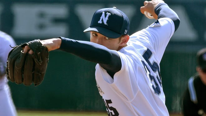 Nevada's Trevor Charpie will take the mound against New Mexico on Thursday.