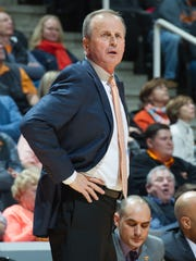 Tennessee Volunteers head coach Rick Barnes.