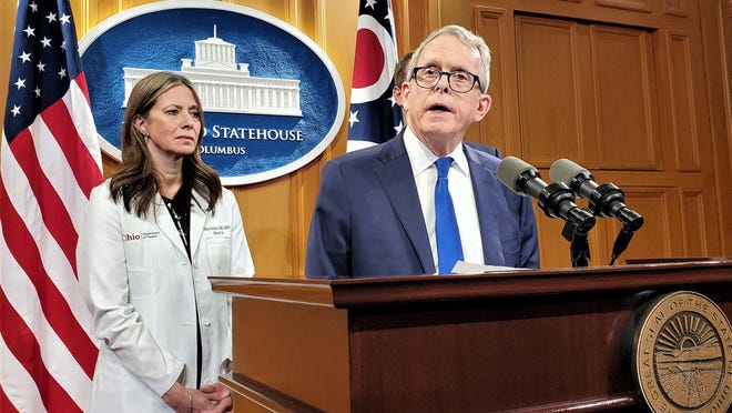 Ohio will mark the first three months of the pandemic on Tuesday. State Health Director Dr. Amy Acton and Gov. Mike DeWine announced the first three cases in Ohio on March 9.