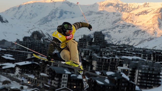 2014 Olympic gold medalist David Wise, of Reno, Nev., is among the elite athletes competing in the X Games, which opened Thursday in Aspen, Colo.