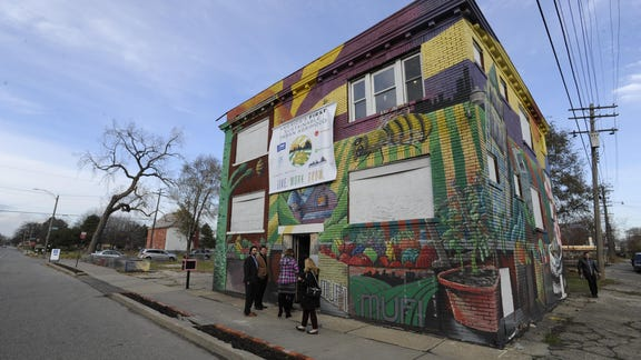 'Agrihood' project focuses on farm-to-table in Detroit