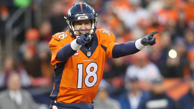 Denver Broncos quarterback Peyton Manning will be the starter in the AFC divisional round of the playoffs.