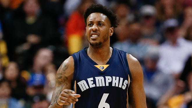 Mario Chalmers ruptured his right Achilles tendon Wednesday against the Celtics.