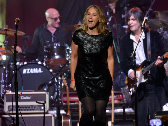 Joan Osborne is paying tribute to Bob Dylan during her performance at Word of South.