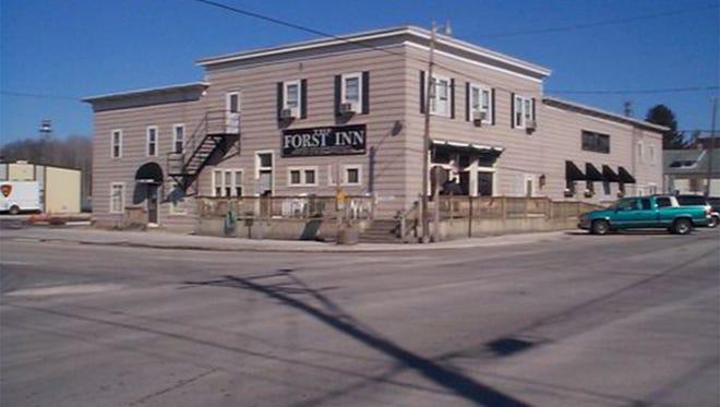 Exterior of the Forst Inn, E2910 County Road BB, in Tisch Mills.