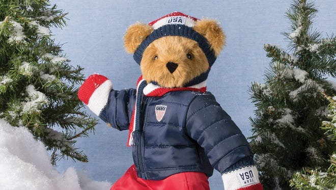 Sales of Vermont Teddy Bear Co.'s Spirit bear help raise money for the U.S. Olympic Team.