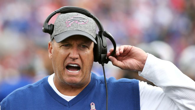 Rex Ryan's broadcast debut Monday wasn't exactly memorable.