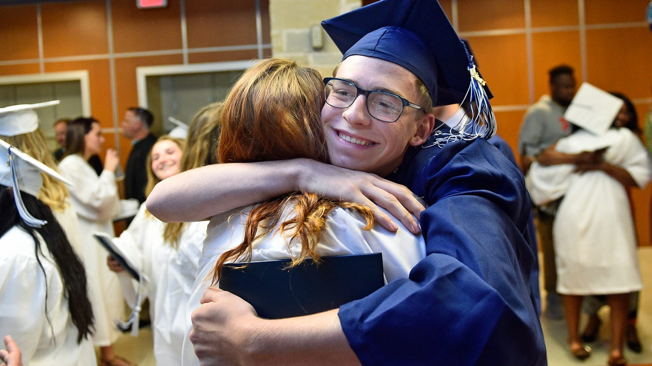 Chambersburg Career Magnet School held their 2017 commencement in the CASHS auditorium on Thursday, May 25, 2017.
