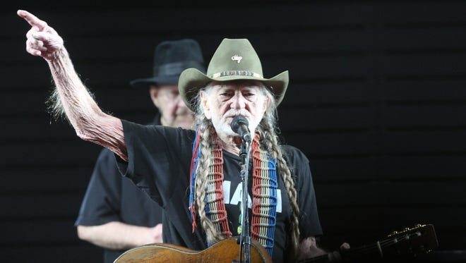 Willie Nelson performs on the Palomino Stage during the 2017 Stagecoach California's Country Music Festival in Indio, California on April 29, 2017. Mandatory Credit: Omar Ornelas/The Desert Sun Via USA TODAY NETWORK